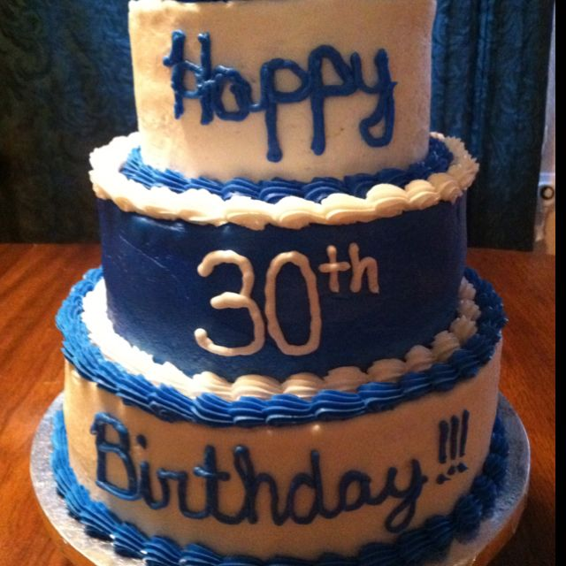 Tremendous My Husbands 30Th Birthday Cake With Images 30 Birthday Cake Personalised Birthday Cards Veneteletsinfo