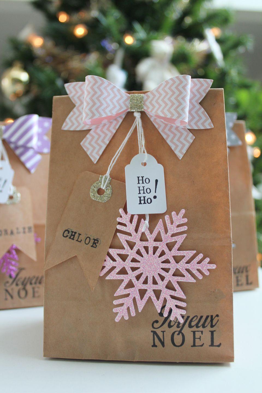 ddkb 21 sachets kraft d cor s craft paquet cadeau original pinterest navidad regalos. Black Bedroom Furniture Sets. Home Design Ideas