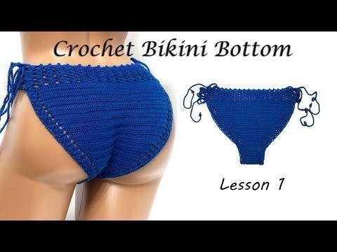 Как вязать трусы - Вязания бикини крючком - Урок 1 / DIY - Crochet Bikini Bottom - Easy Tutorial - YouTube #crochetbikinibottoms Как вязать трусы - Вязания бикини крючком - Урок 1 / DIY - Crochet Bikini Bottom - Easy Tutorial - YouTube #crochetbikinibottoms