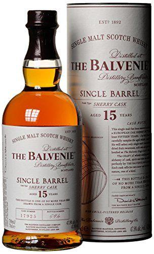 Balvenie 15 Year Old Sherry Cask Single Barrel Single Malt Whisky Epicerie Au Meilleur Prix Livree Sur Toute La France Metropolitaine Whisky Ecossais Whisky Alcool