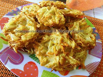 Resep Bakwan Kentang Sayur Jamur Tiram Resep Masakan Indonesia Makanan Dan Minuman Kentang