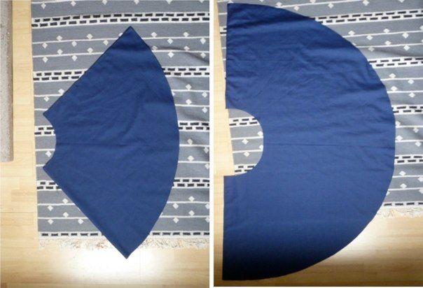 5b4eb5a7d Como hacer una falda circular paso a paso08 | Costura / Sewing ...