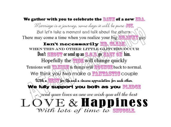 cleaning products basket poem for bridal shower by afairypapershop 300