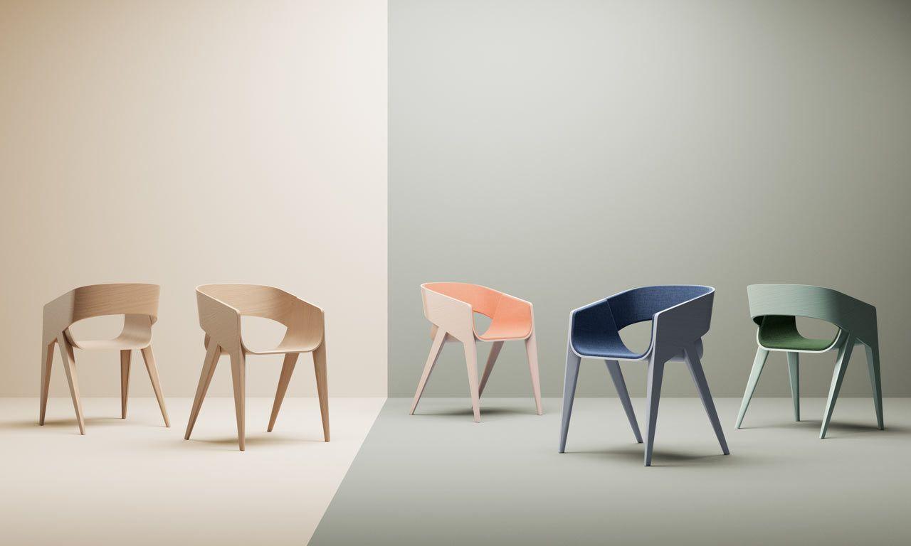 Slim chair by christophe de sousa sofa furniture contemporary