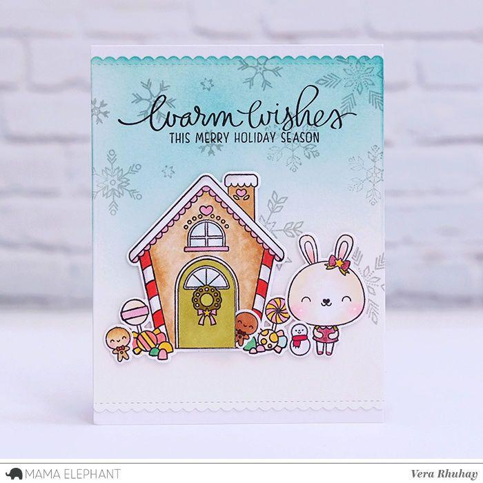 mama elephant   design blog   christmas cards   Pinterest   Mama ...