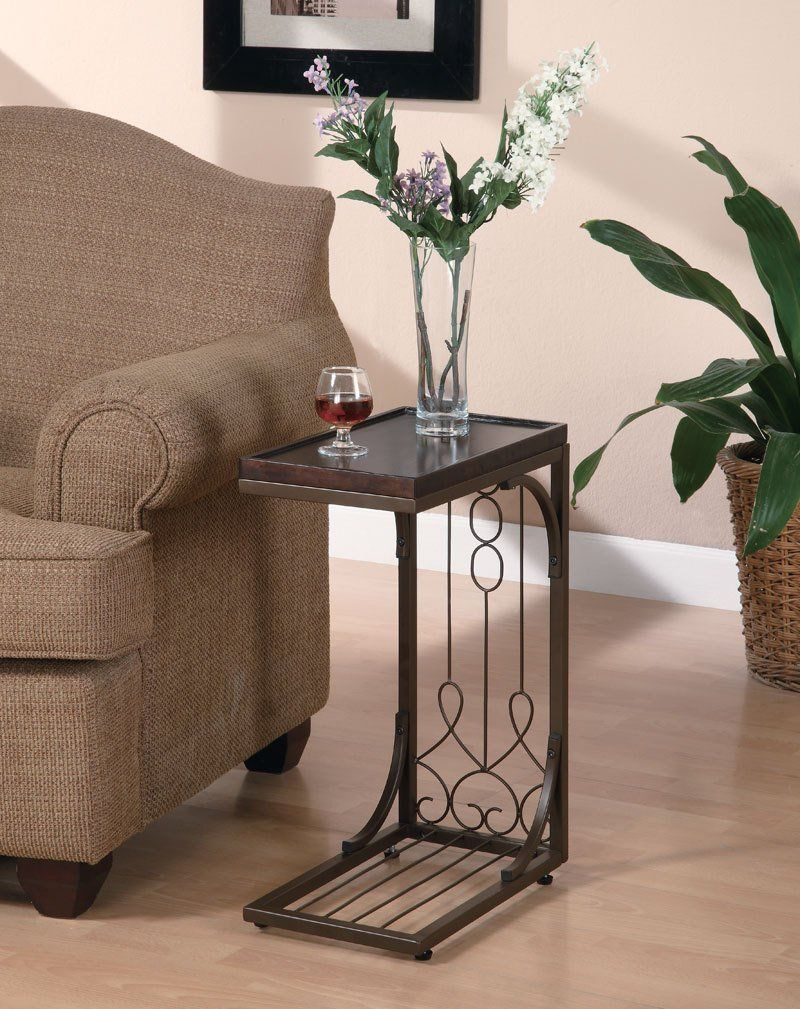 Coaster 900280 Snack Table with Burnished