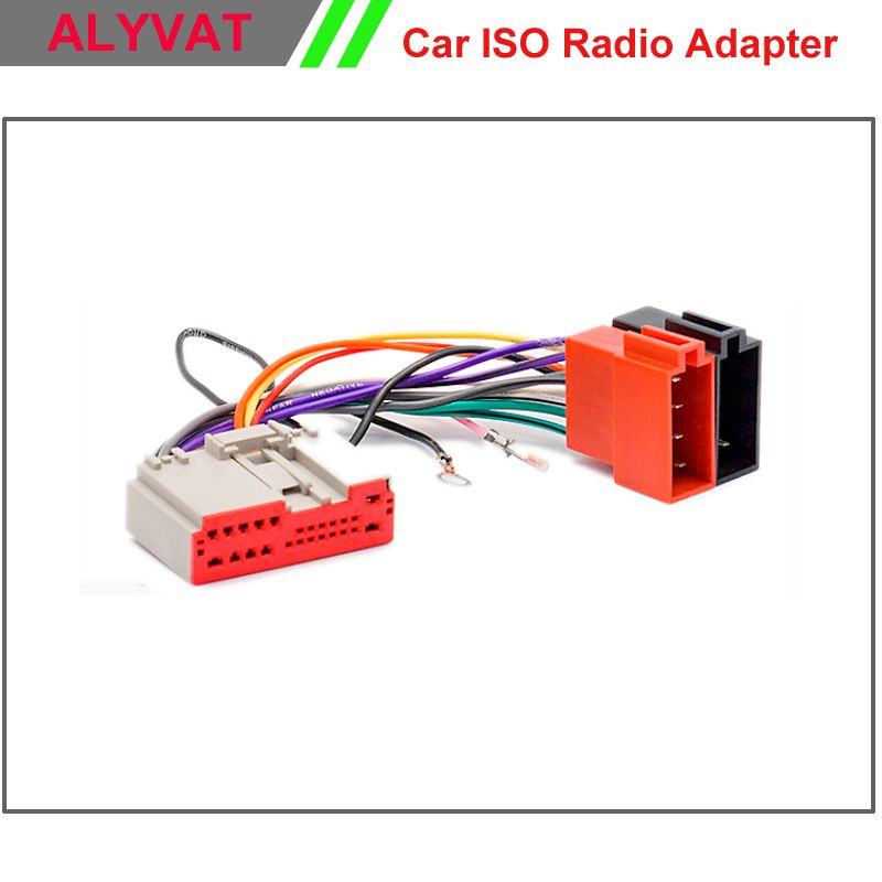 Car Stereo Iso Wiring Harness For Ford Fusion Fiesta Land Rover Freelander Radio Adapter Connector Power Cable Adaptor Pl Car Electronics Car Stereo Land Rover