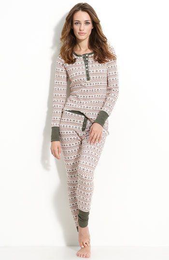 c837cf38696c Make + Model Pattern Thermal Pajamas
