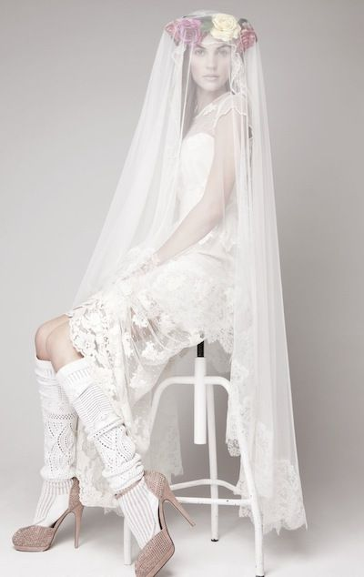 Otaduy 2013 Collection via fashionbride.wordpress.com  #white