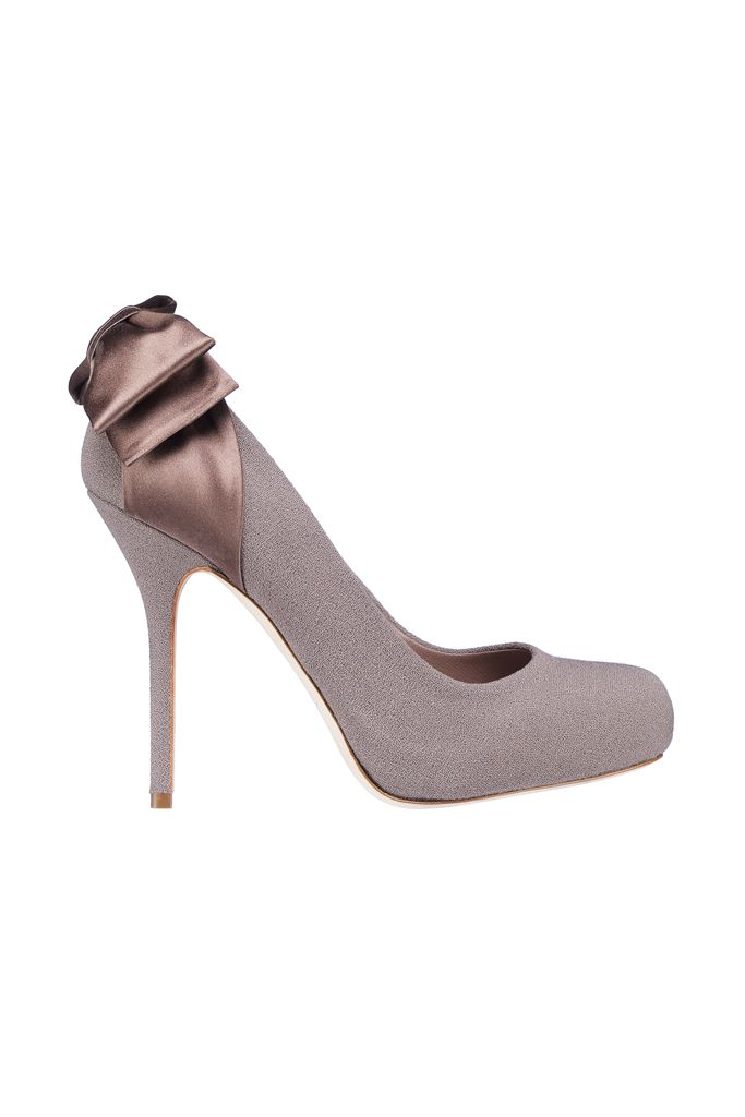 fall 2012, Christian Dior, shoes, high heels, taupe