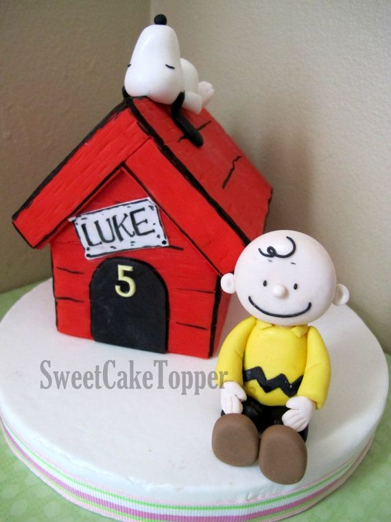 Snoopy Charlie Brown cake toppers Confections Character Cakes