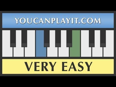 How to play piano: Mary Had a Little Lamb [Very Easy Piano Tutorial] - http://blog.pianoforbeginners.net/uncategorized/how-to-play-piano-mary-had-a-little-lamb-very-easy-piano-tutorial