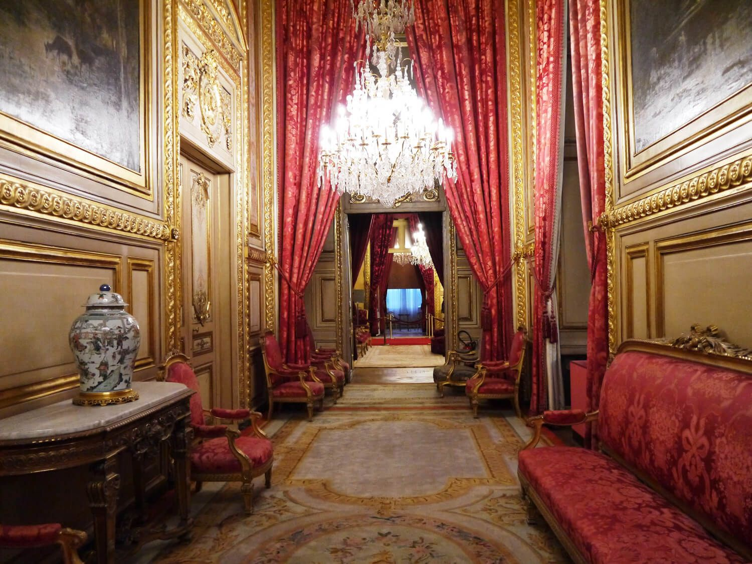 The Hall Of Napoleon Iii Apartments Louvre Second Empire
