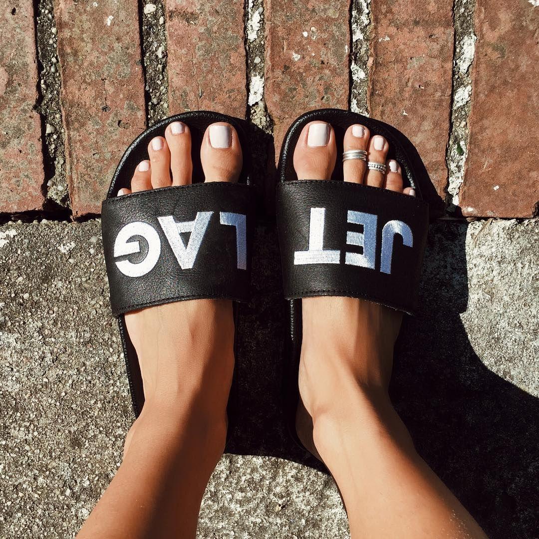adc094892 Jet Lag Custom Adidas slides #adidas, #travel, #carryon, #shoes, #slides,