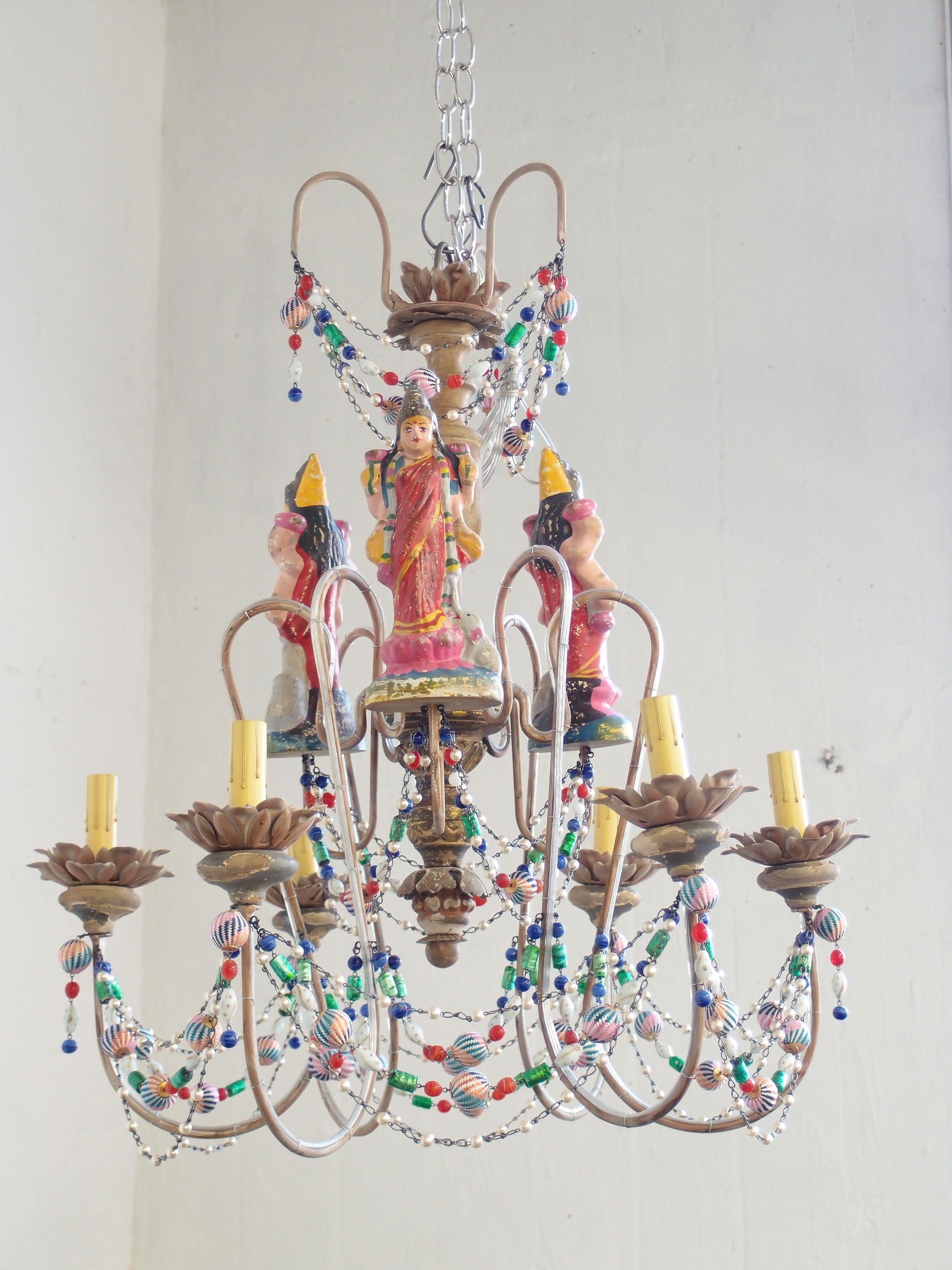 Canopy Designs. A mini version of our massive Goddess Chandelier ...