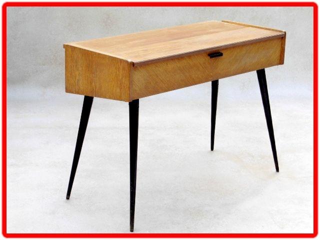 bureau console deco vintage scandinave meubles et d coration vintage design scandinave. Black Bedroom Furniture Sets. Home Design Ideas
