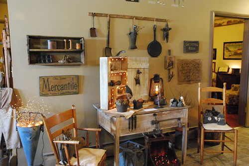 Primitive Living Room | Flickr - Photo Sharing!