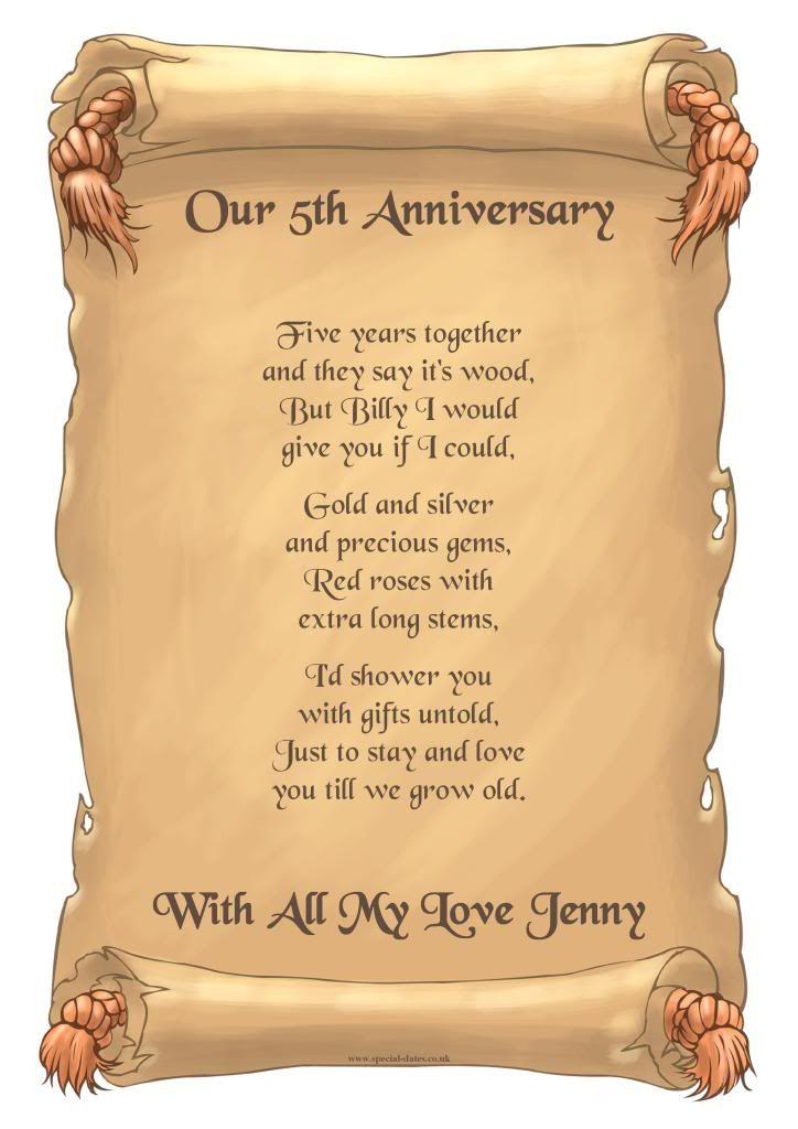5th Year Wedding Anniversary Cutewedding Xyz