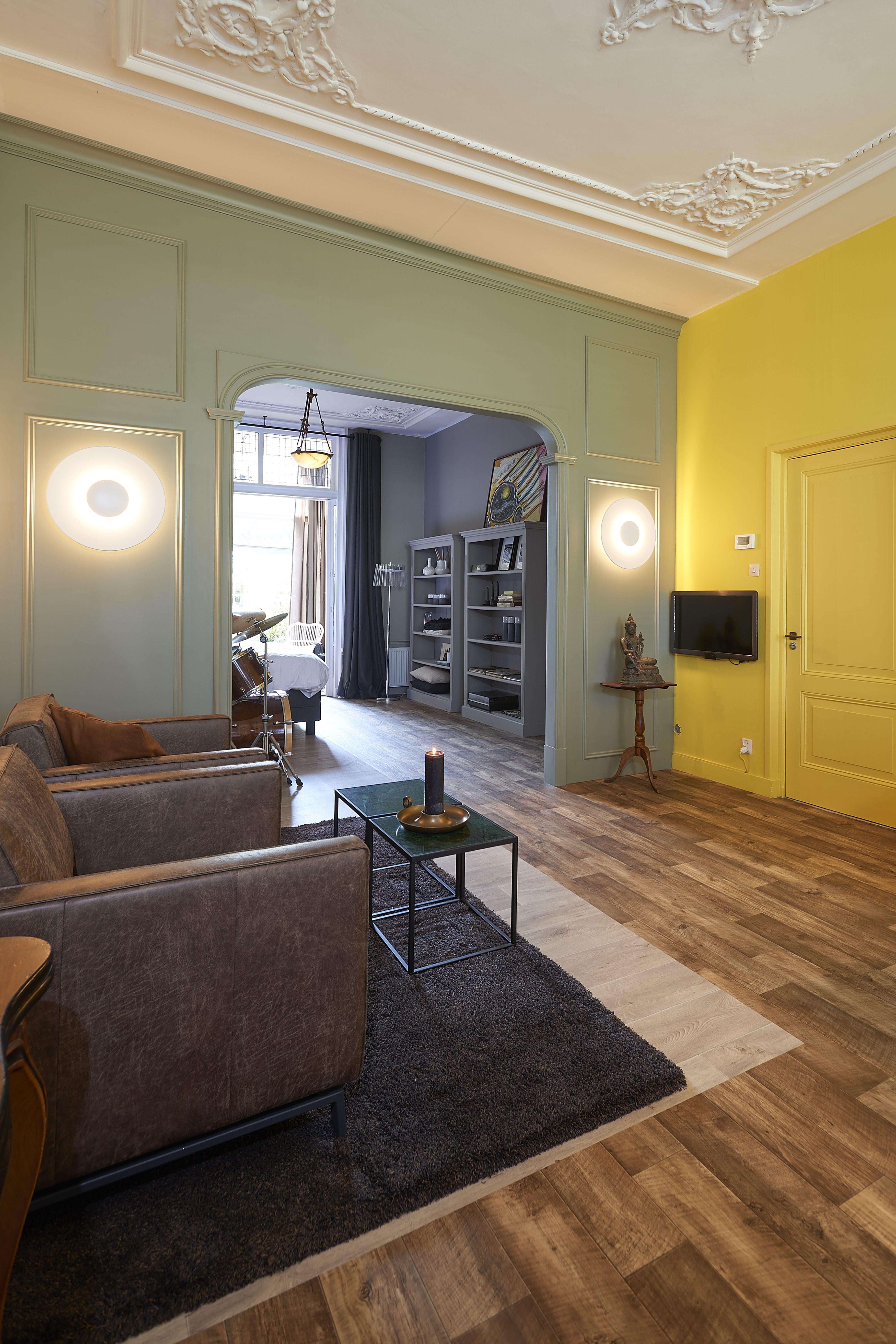 Stoer groen en fris geel. Osiris Hertman voor RTL Woonmagazine. Mini ...