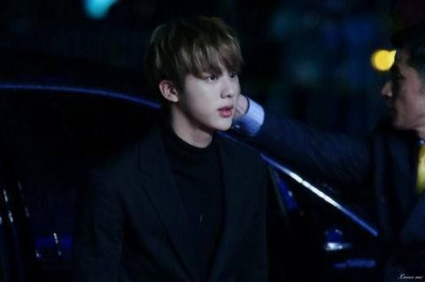 Genial Car Door Guy. Jin BTS