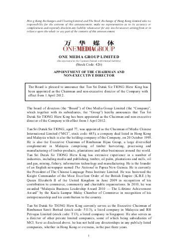 standard letter appointment for non executive compass group - letter of appointment