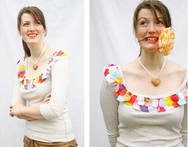 ~ Ruches et Stuff ~: T-shirts Pétale Tutorial!