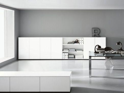 Porro modern office interieurdesign interieur wonen kast glas