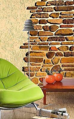 fototapete bild tapete stein - wand mauer 200x260cm wanddekor, Wohnzimmer