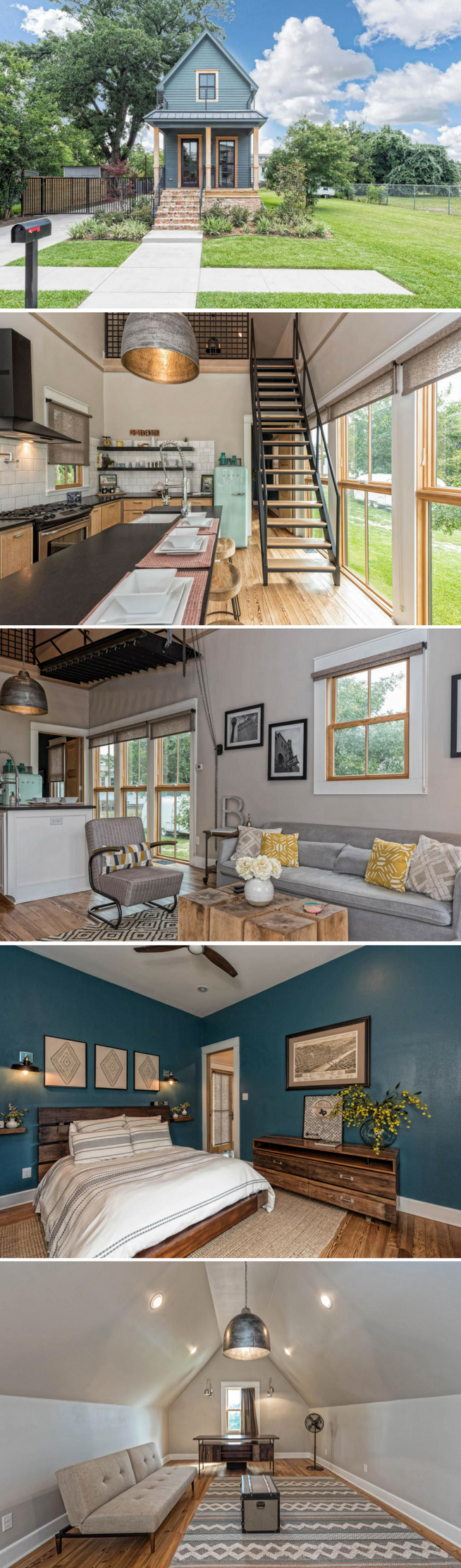 pretty house the smallest home featured on fixer upper just 1 000 sq ft and now available for. Black Bedroom Furniture Sets. Home Design Ideas
