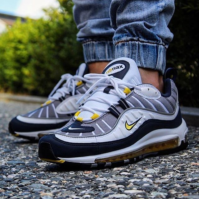 1db2aeab3e19 Nike Air Max 98 (Tour Yellow) - Sneaker Freaker