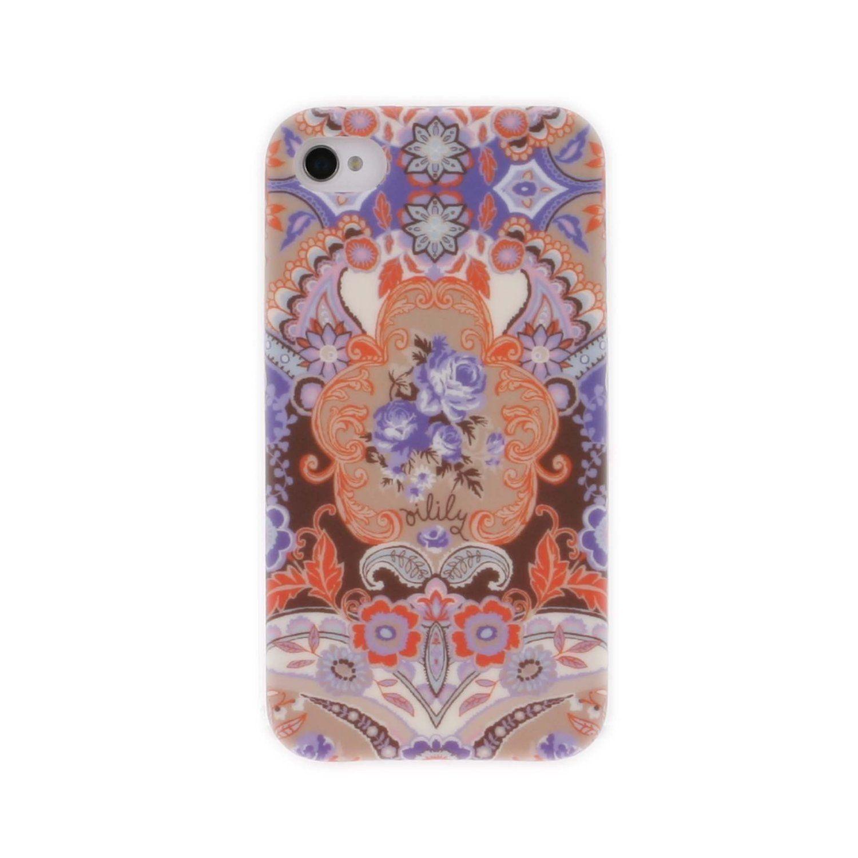 Oilily Summer Mosaic - Carcasa para iPhone 4/4S, diseño estampado: Amazon.es: Juguetes y juegos