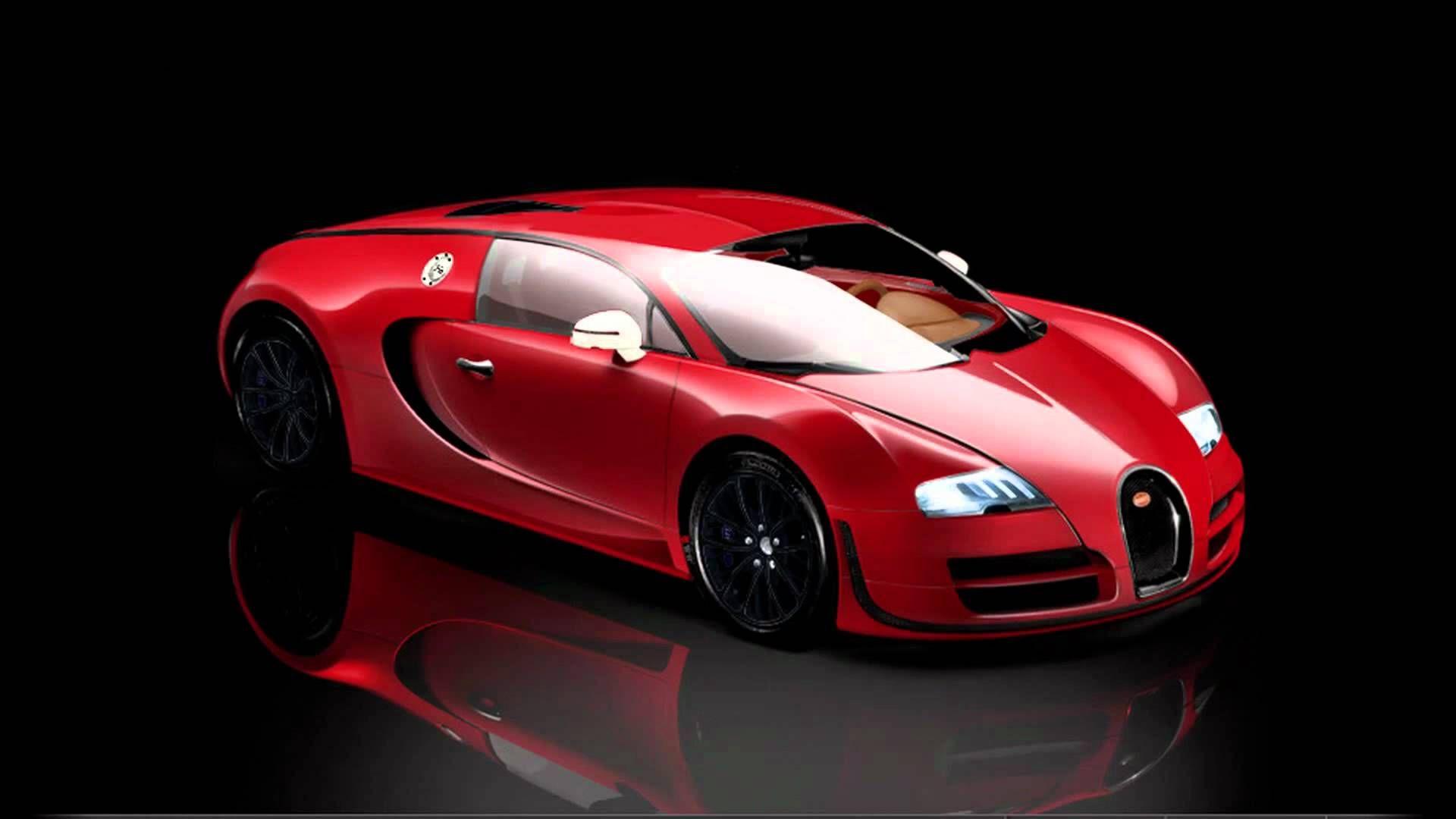 Red Bugatti Veyron Supersport Bugatti Veyron Super Sport Bugatti Super Sport Veyron