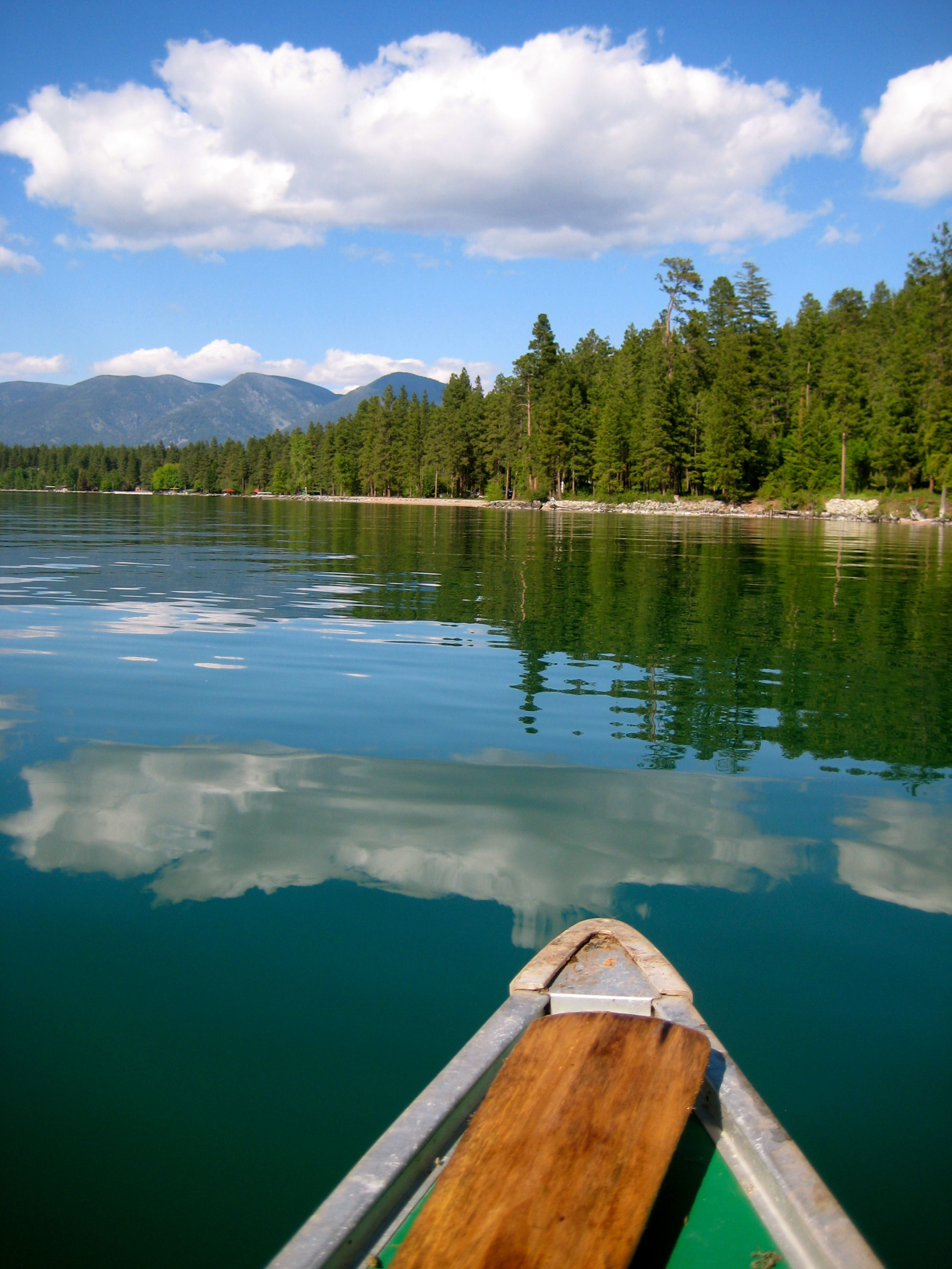 Flathead Lake, Montana.  I still dream of it, a decade later...