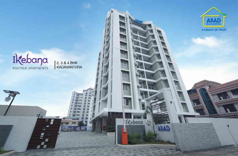 Apartments In Abad Builders Ikebana Premium 2 3 Bedroom Luxury And Flats Panampilly Nagar Kochi With Exclusive Facilities