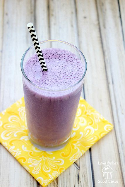 treat yourself to this purple cow shake only 3 ingredients easy