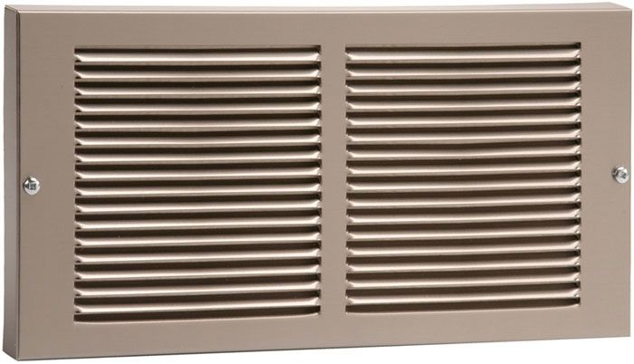 Pewter Stamped Steel Return Air Grille Update Your Boring White Metal Registers With Pewter Fin Decorative Vent Cover Return Air Vent Baseboard Heater Covers