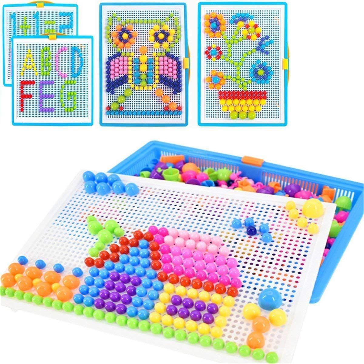 Mosaik Puzzle Spielzeug F R Jungen M Dchen Kinder Ab 3 Jahre Mosaikstecker Bausteine Blocks Steckmosaik S In 2020 Kinder Lernspielzeug Kinder Spielzeug Kinderspielzeug