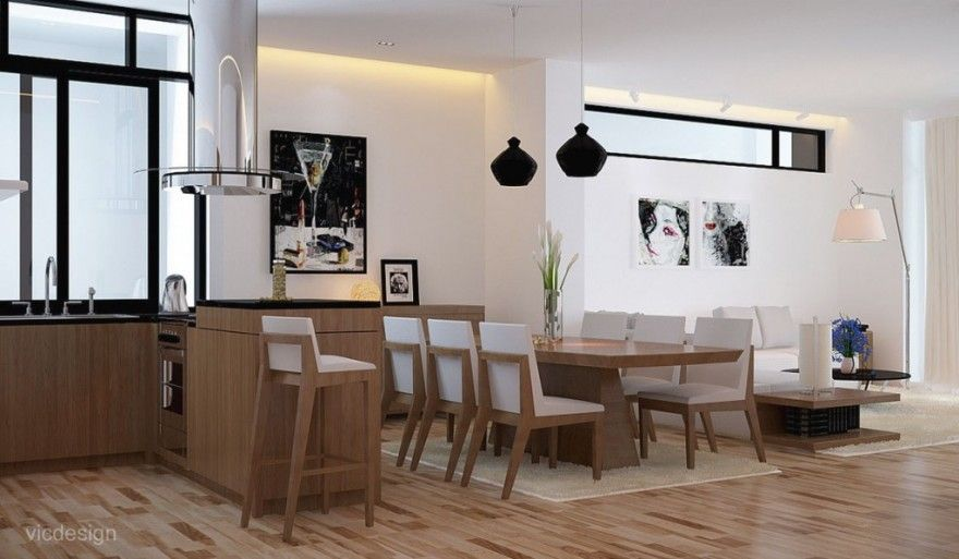 Asian Dining Room Tables | Contemporary Oriental Dining Room ...