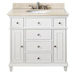 Avanity Windsor 36 Vanity Only Model Number Windsor V36 Wt Variation White White Vanity Bathroom Single Sink Bathroom Vanity Bathroom Vanity