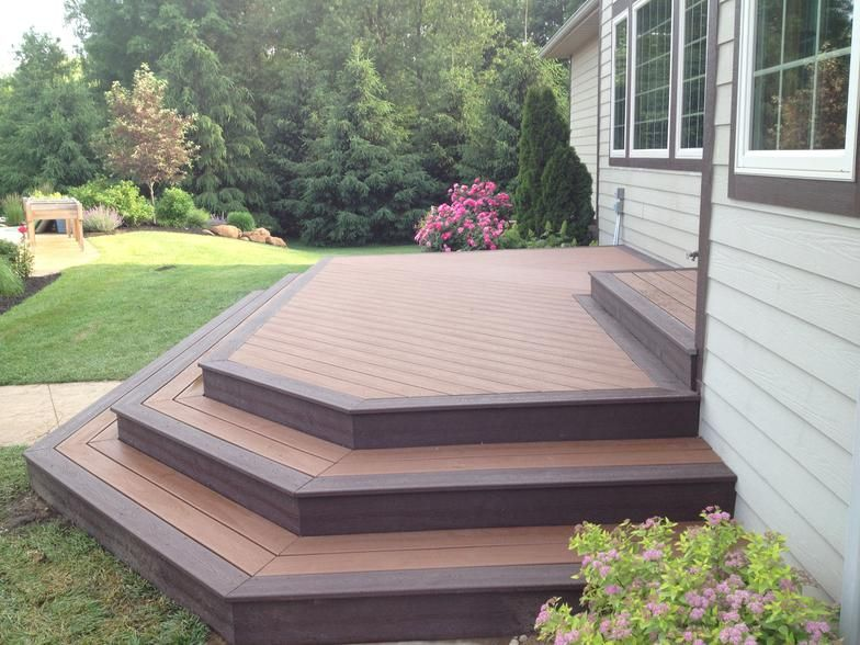 Image Result For Two Tone Composite Deck Floating Deck Deck
