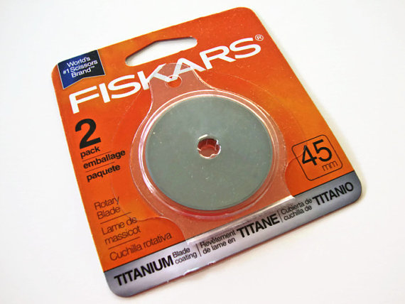 FISKERS REPLACEMENT  TITANIUM// ROTARY BLADE 45mm