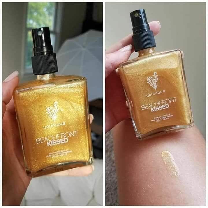 Beachfront oil is backand on sale perfume bottles