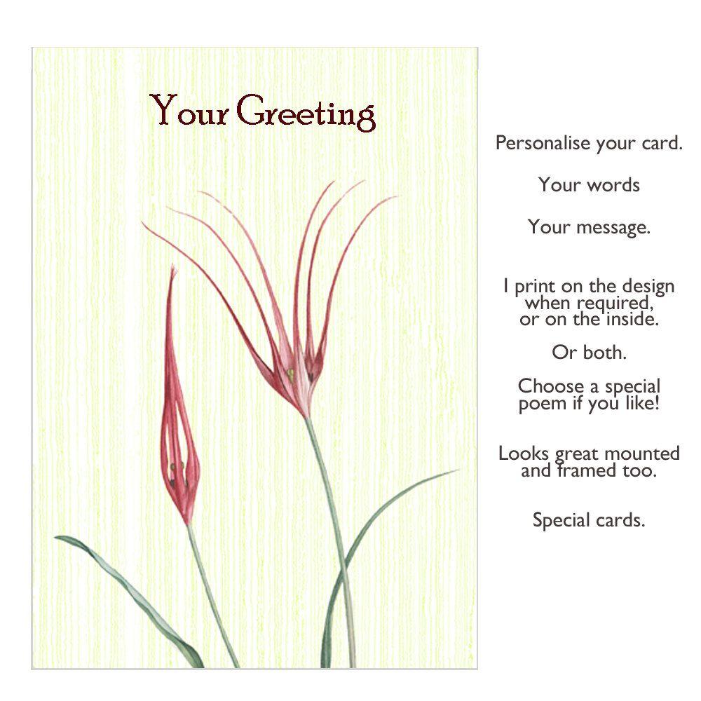 Tulips card greeting card handmade card birthday card handmade tulips card greeting card handmade card birthday card handmade card blank card greetings card personalised card congratulations card m4hsunfo