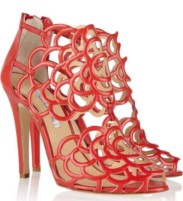 Oscar de la Renta Gladia Cutout Sandals
