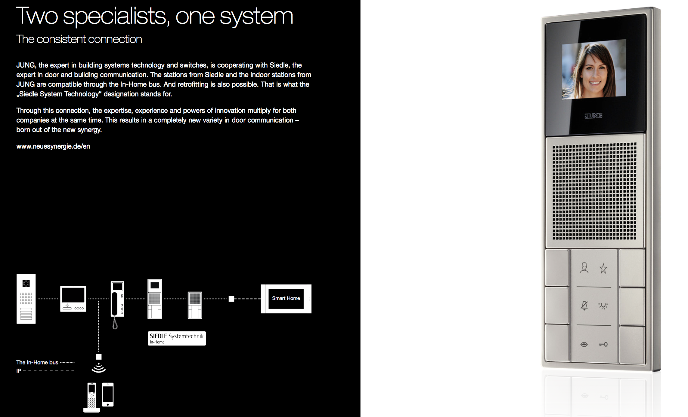 JUNG Door communication, Intelligent Building & lighting control ...