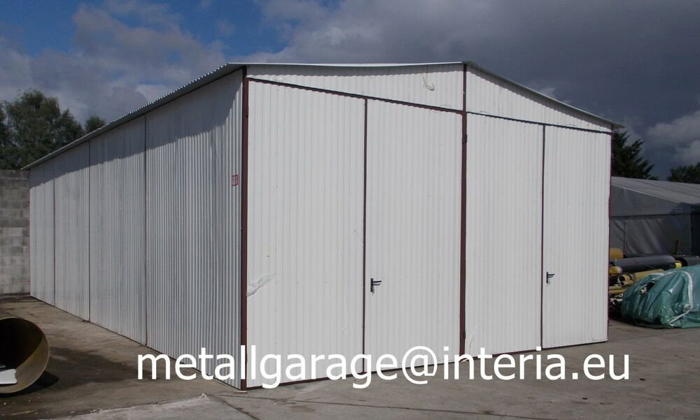 eBay Sponsored 6x65 Blechgarage Garage Fertiggarage