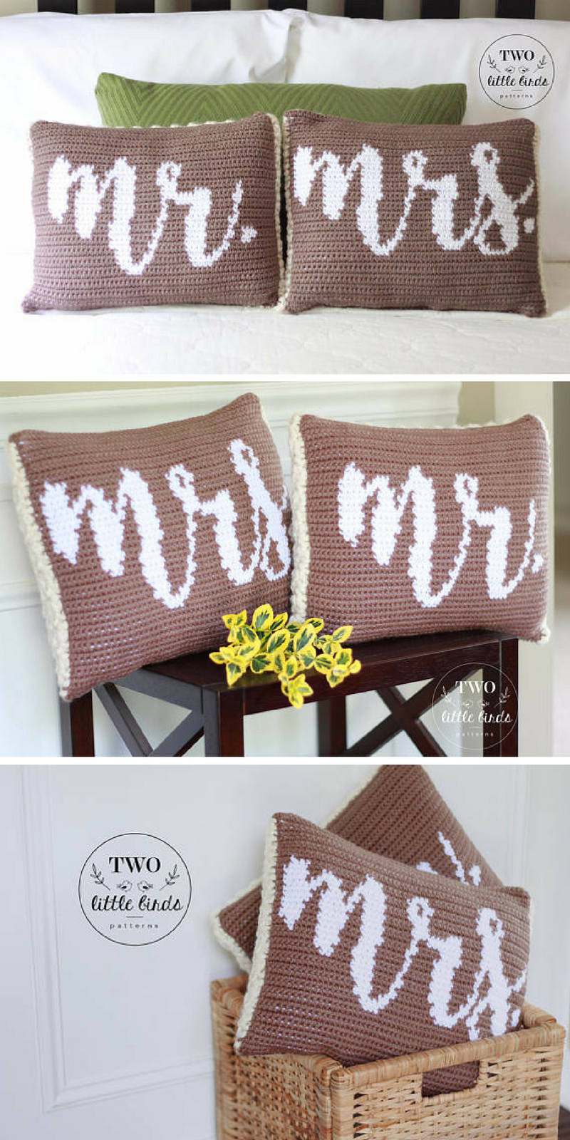 Mr and Mrs Pillows Makes a Great Wedding Gift