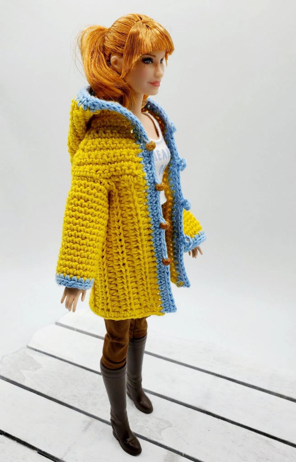Photo of How to crochet Barbie raincoat – HandmadebyRaine