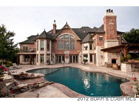 Camdenton, MO  lake front home in Lake of the Ozarks  Wow