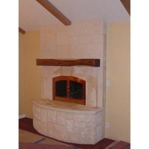 Mediterranean Fireplace